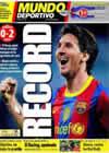 Portada Mundo Deportivo del 24 de Octubre de 2010