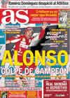 Portada diario AS del 25 de Octubre de 2010