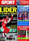 Portada diario Sport del 25 de Octubre de 2010