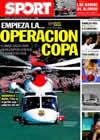Portada diario Sport del 26 de Octubre de 2010