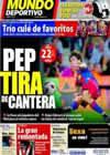 Portada Mundo Deportivo del 26 de Octubre de 2010