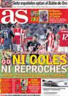 Portada diario AS del 27 de Octubre de 2010