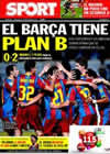 Portada diario Sport del 27 de Octubre de 2010