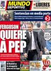 Portada Mundo Deportivo del 27 de Octubre de 2010