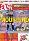 Portada diario AS del 28 de Octubre de 2010