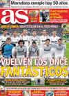 Portada diario AS del 30 de Octubre de 2010