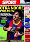 Portada diario Sport del 30 de Octubre de 2010