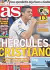 Portada diario AS del 31 de Octubre de 2010