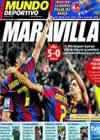 Portada Mundo Deportivo del 31 de Octubre de 2010