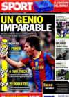 Portada diario Sport del 1 de Noviembre de 2010