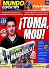 Portada Mundo Deportivo del 1 de Noviembre de 2010