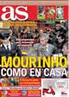 Portada diario AS del 3 de Noviembre de 2010