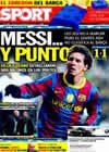 Portada diario Sport del 3 de Noviembre de 2010