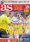 Portada diario AS del 4 de Noviembre de 2010