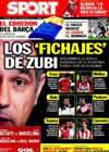 Portada diario Sport del 4 de Noviembre de 2010