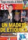 Portada diario AS del 5 de Noviembre de 2010