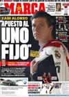 Portada diario Marca del 6 de Noviembre de 2010