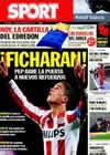 Portada diario Sport del 6 de Noviembre de 2010