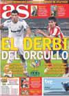 Portada diario AS del 7 de Noviembre de 2010