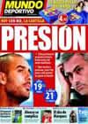 Portada Mundo Deportivo del 7 de Noviembre de 2010