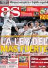 Portada diario AS del 8 de Noviembre de 2010
