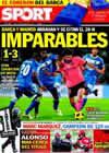 Portada diario Sport del 8 de Noviembre de 2010