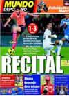 Portada Mundo Deportivo del 8 de Noviembre de 2010