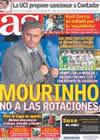Portada diario AS del 9 de Noviembre de 2010