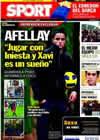 Portada diario Sport del 9 de Noviembre de 2010