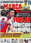Portada diario Marca del 10 de Noviembre de 2010