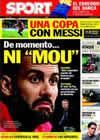 Portada diario Sport del 10 de Noviembre de 2010