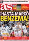 Portada diario AS del 11 de Noviembre de 2010