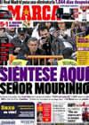 Portada diario Marca del 11 de Noviembre de 2010