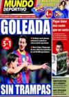 Portada Mundo Deportivo del 11 de Noviembre de 2010
