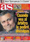 Portada diario AS del 12 de Noviembre de 2010