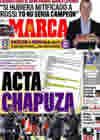 Portada diario Marca del 12 de Noviembre de 2010