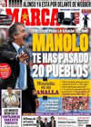 Portada diario Marca del 13 de Noviembre de 2010