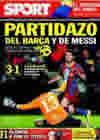 Portada diario Sport del 14 de Noviembre de 2010