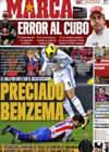 Portada diario Marca del 15 de Noviembre de 2010