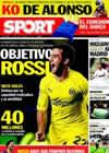 Portada diario Sport del 15 de Noviembre de 2010