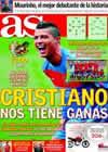 Portada diario AS del 17 de Noviembre de 2010