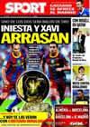 Portada diario Sport del 17 de Noviembre de 2010