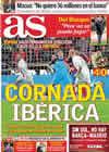 Portada diario AS del 18 de Noviembre de 2010