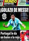 Portada Mundo Deportivo del 18 de Noviembre de 2010