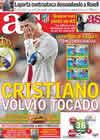 Portada diario AS del 19 de Noviembre de 2010