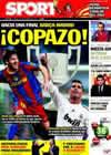 Portada diario Sport del 19 de Noviembre de 2010