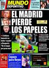 Portada Mundo Deportivo del 19 de Noviembre de 2010