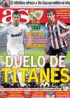 Portada diario AS del 20 de Noviembre de 2010