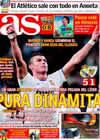 Portada diario AS del 21 de Noviembre de 2010