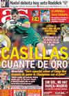 Portada diario AS del 22 de Noviembre de 2010
